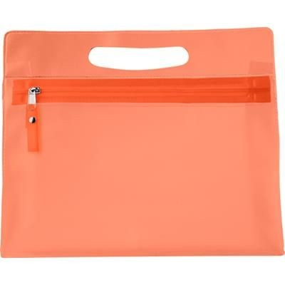 Picture of TOILETRY WASH BAG in Orange