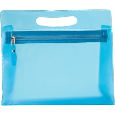 Picture of TOILETRY WASH BAG in Pale Blue