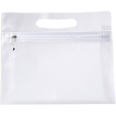 Picture of TOILETRY WASH BAG in Translucent Clear