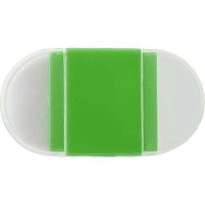 Picture of ERASER with Pencil Sharpener in Pale Green