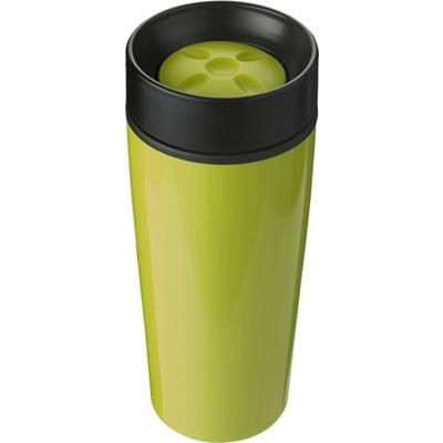 Picture of STAINLESS STEEL TRAVEL MUG in Pale Green