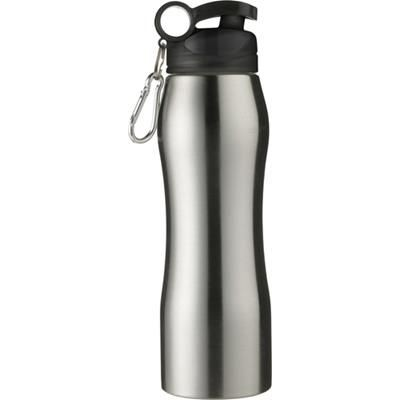 Picture of ALUMINIUM METAL SPORTS DRINK BOTTLE in In Silver
