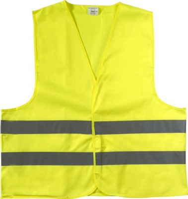 Picture of HIGH VISIBILITY PROMOTIONAL SAFETY JACKET in Yellow