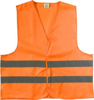 Picture of HIGH VISIBILITY PROMOTIONAL SAFETY JACKET in Orange