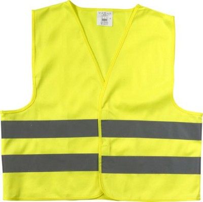 Picture of CHILDRENS HIGH VISIBILITY PROMOTIONAL SAFETY JACKET in Yellow