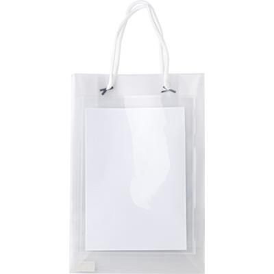 Picture of POLYPROPYLENE PROMOTIONAL EXHIBITION BAG in Translucent Clear
