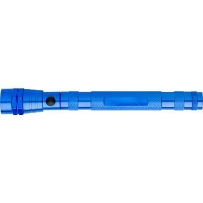 Picture of TELESCOPIC ALUMINIUM METAL TORCH in Cobalt Blue