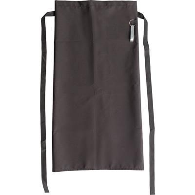 Picture of POLYESTER APRON in Black