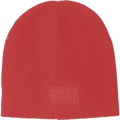 Picture of ACRYLIC BEANIE in Red