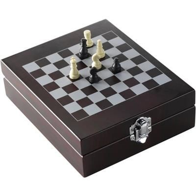 Picture of WINE SET with Chess-Game