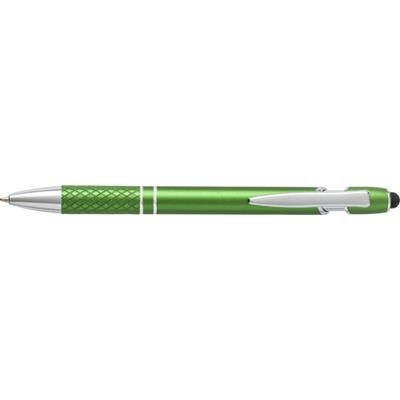 Picture of ALUMINIUM METAL BALL PEN & TOUCH SCREEN STYLUS in Green
