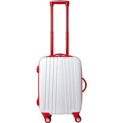 Picture of ABS TROLLEY SUITCASE in Red