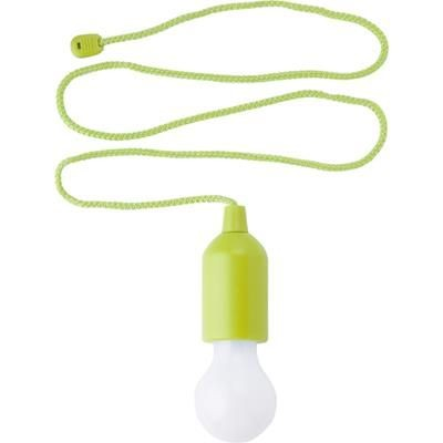 Picture of PLASTIC PULL LAMP in Pale Green