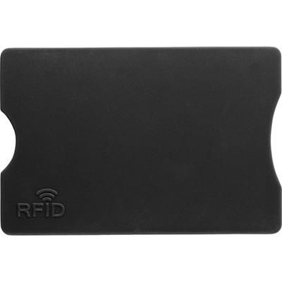Picture of PLASTIC CARD HOLDER in Black