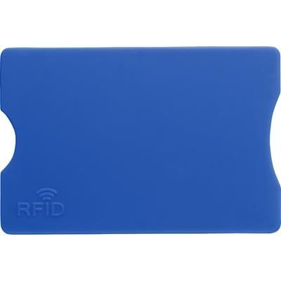 Picture of PLASTIC CARD HOLDER in Cobalt Blue