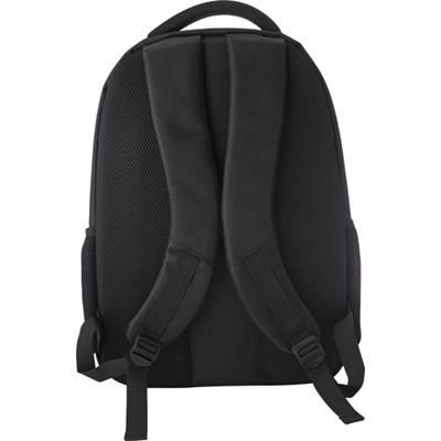 Picture of LAPTOP BACKPACK RUCKSACK in Black