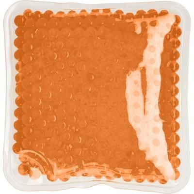 Picture of SQUARE PLASTIC ICE PACK in Orange