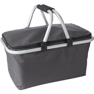 Picture of QUALITY GROCERIES BASKET in Grey