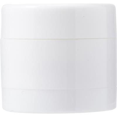Picture of PLASTIC SCREW LID MINTS POT in White