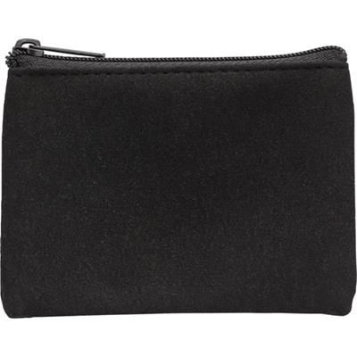 Picture of POLYESTER ZIP KEY WALLET with Metal Ring