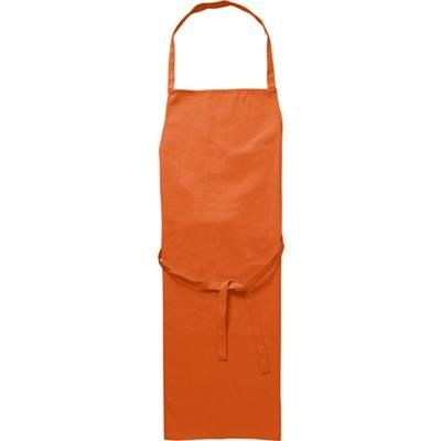 Picture of COTTON 180GM APRON in Orange