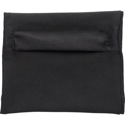 Picture of ELASTICATED POLYESTER WRIST WALLET in Black
