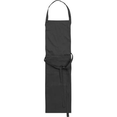 Picture of TETRON COTTON APRON in Black