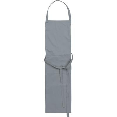 Picture of TETRON COTTON APRON in Grey