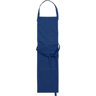 Picture of TETRON COTTON APRON in Blue