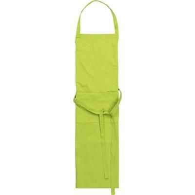Picture of TETRON COTTON APRON in Pale Green