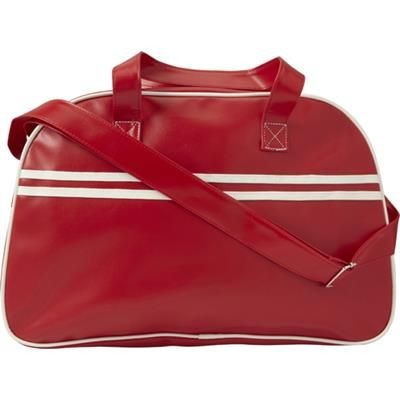Picture of PVC SPORTS BAG in Red