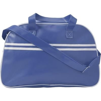 Picture of PVC SPORTS BAG in Cobalt Blue