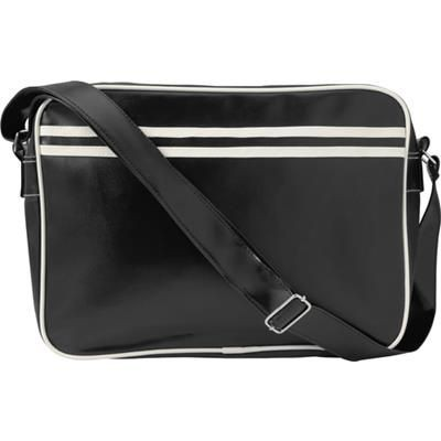 Picture of PVC MESSENGER BAG in Black