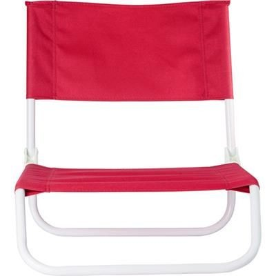 Picture of FOLDING BEACH CHAIR in Red