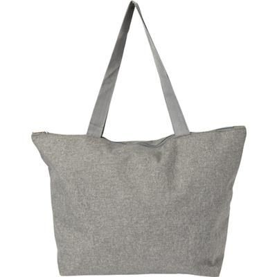 Picture of POLY CANVAS SHOPPER TOTE BAG