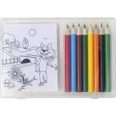 Picture of SET OF COLOURING PENCIL SET AND COLOURING X SHEET