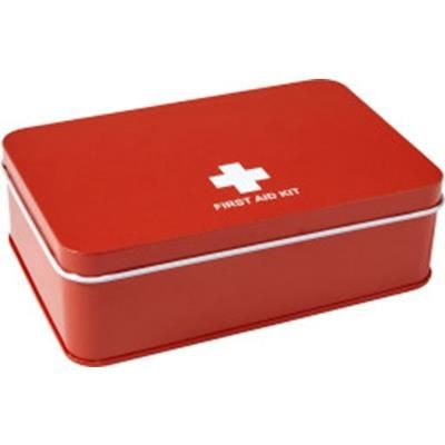 Picture of 15 PIECE FIRST-AID KIT in Metal Tin