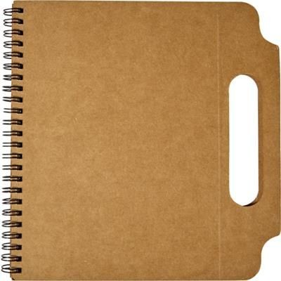 Picture of CARDBOARD CARD NOTE BOOK (A5)
