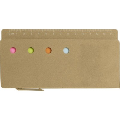 Picture of CARDBOARD CARD HOLDER with Ruler