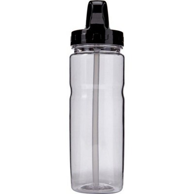 Picture of CLEAR TRANSPARENT WATER BOTTLE (550ML)