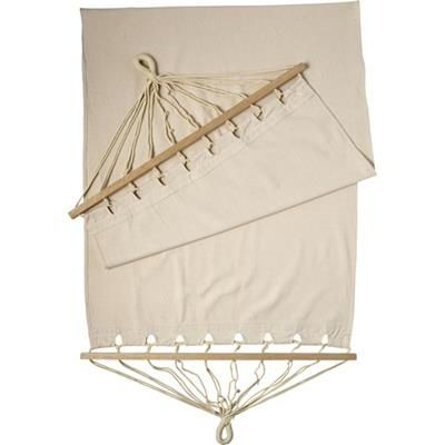 Picture of POLYSTER CANVAS HAMMOCK with Wood Rims