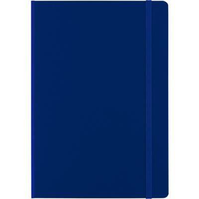 Picture of CARDBOARD CARD NOTE BOOK in Blue