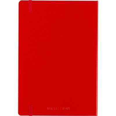 Picture of CARDBOARD CARD NOTE BOOK in Red
