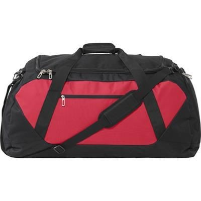 Picture of LARGE 600D POLYESTER SPORTS-TRAVEL BAG