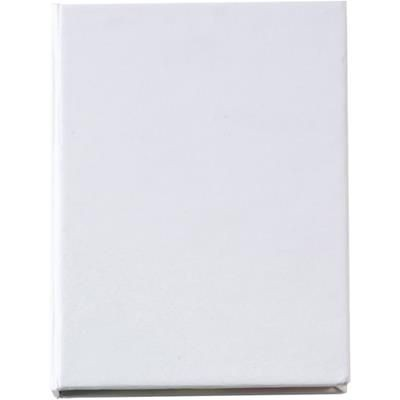 Picture of STICKY NOTE & FLAG PAGE MARKER SET in White