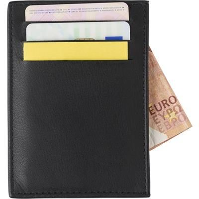 Picture of SPLIT LEATHER RFID ANTI SKIMMING CREDIT CARD WALL