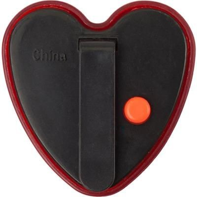 Picture of HEART SHAPE SAFETY LIGHT in Red