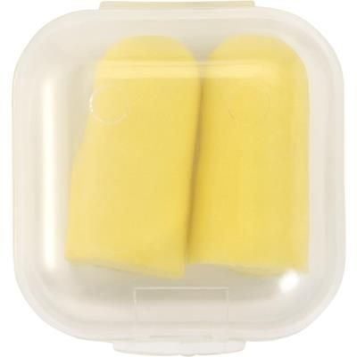Picture of MEMORY FOAM EARPLUGS in Yellow