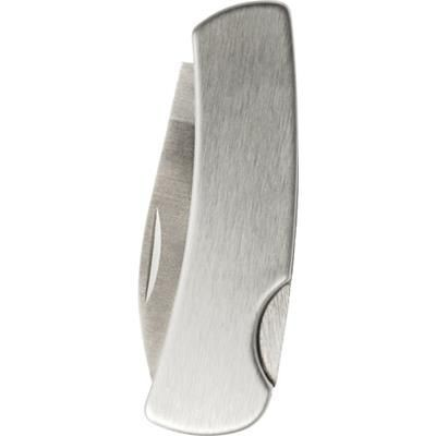 Picture of STAINLESS STEEL METAL POCKET KNIFE