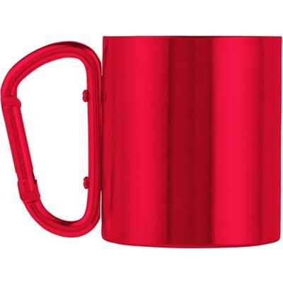 Picture of STAINLESS STEEL METAL, DOUBLE WALLED TRAVEL MUG (200 ML)